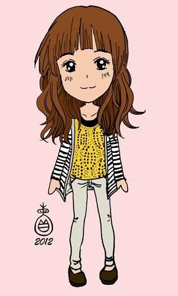 2014q版可爱女生q版动漫可爱女生 可爱女生头像图片